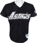Baseball Collectibles:Uniforms, 1996 Craig Biggio Game Worn Houston Astros Jersey. ...