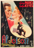 "Movie Posters:Drama, The Jolson Story (Columbia, 1950). Italian 2 - Foglio (39"" X54.5"").. ..."