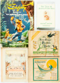 Books:Children's Books, [Children's] Group of Five Children's Books. Various publishers anddates. Jemima is a reprint. Publisher's bindings. Ve...(Total: 5 Items)