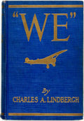 "Books:Biography & Memoir, Charles A. Lindbergh. ""We."" Putnam's, 1927. Sixteenth impression. Original cloth binding. Textblock toned. Title pag..."