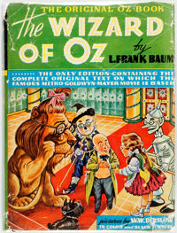 L. Frank Baum. The New Wizard of Oz. Indianapolis: Bobbs-Merrill, [1939]. MGM movie edition