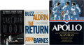 Autographs:Celebrities, Apollo Moonwalkers: Collection of Three Signed Books. ... (Total: 3Items)