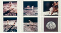 Explorers:Space Exploration, Apollo 11: Group of Six Original NASA Color Photos, all Iconic Images.... (Total: 6 )