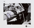 Autographs:Celebrities, Neil Armstrong Signed Original NASA Glossy Photo, Shown in the Cockpit of X-15 #1. ...