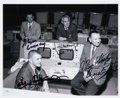 Autographs:Celebrities, NASA Mission Control Flight Directors: Photo Signed by the First Four....