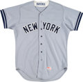 Baseball Collectibles:Uniforms, 1983 Don Baylor Game Worn New York Yankees Jersey. ...