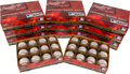 Autographs:Baseballs, Stan Musial Single Signed Baseball Inventory of 1,008....