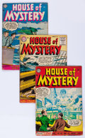 Silver Age (1956-1969):Horror, House of Mystery Group (DC, 1954-61) Condition: Average GD+....(Total: 37 Comic Books)