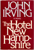 Books:Literature 1900-up, John Irving. The Hotel New Hampshire. New York: E.P. Dutton, [1981]. Stated first edition. Publisher's Quarter cloth...