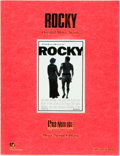 Entertainment Collectibles:Movie, [Movie Scripts] Sylvester Stallone. Rocky. O.S.P.Publishing, [1994]. First edition. Original wrappers. Someedgewea...