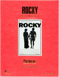 [Movie Scripts] Sylvester Stallone. Rocky. O.S.P. Publishing, [1994]. First edition. Original w