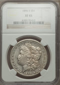 Morgan Dollars: , 1896-S $1 XF45 NGC. NGC Census: (145/1003). PCGS Population (178/1822). Mintage: 5,000,000. Numismedia Wsl. Price for probl...