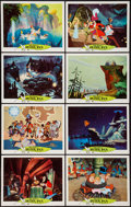 "Movie Posters:Animation, Peter Pan (Buena Vista, R-1969). Lobby Cards (8) (11"" X 14"").Animation.. ... (Total: 8 Items)"