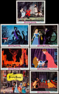 "Movie Posters:Animation, Sleeping Beauty (Buena Vista, R-1970). Title Lobby Card & Lobby Cards (6) (11"" X 14""). Animation.. ... (Total: 7 Items)"