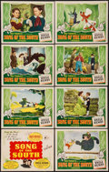 "Movie Posters:Animation, Song of the South (RKO, 1946). Lobby Card Set of 8 (11"" X 14"").Animation.. ... (Total: 8 Items)"