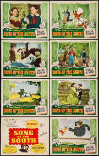 "Song of the South (RKO, 1946). Lobby Card Set of 8 (11"" X 14""). Animation. ... (Total: 8 Items)"