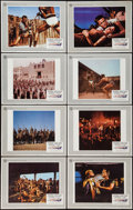 """Movie Posters:Action, Spartacus (Universal International, R-1967). Lobby Card Set of 8(11"""" X 14""""). Action.. ... (Total: 8 Items)"""