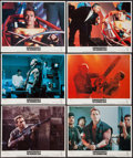 "Movie Posters:Action, The Running Man (Tri-Star, 1987). Lobby Cards (6) (11"" X 14""). Action.. ... (Total: 6 Items)"