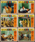 "Movie Posters:War, Captain Newman, M.D. (Universal, 1964). Lobby Cards (12) (11"" X14""). War.. ... (Total: 12 Items)"