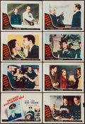 """Movie Posters:Mystery, The Man Who Never Was (20th Century Fox, 1956). Lobby Card Set of 8 (11"""" X 14""""). Mystery.. ... (Total: 8 Items)"""