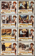 "Movie Posters:Western, Masterson of Kansas & Others Lot (Columbia, 1954). Lobby CardSets of 8 (3 Sets), Title Lobby Card, Lobby Cards (7) (11"" X ...(Total: 32 Items)"