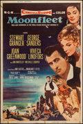 """Movie Posters:Adventure, Moonfleet (MGM, 1955). Poster (40"""" X 60"""") Style Z. Adventure.. ..."""