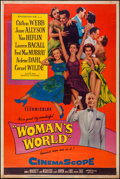 "Movie Posters:Drama, Woman's World (20th Century Fox, 1954). Poster (40"" X 60"") Style Y. Drama.. ..."