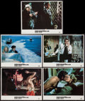 "Movie Posters:James Bond, From Russia with Love (MGM/UA, R-1984). Lobby Cards (5) (11"" X14""). James Bond.. ... (Total: 5 Items)"