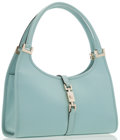 Luxury Accessories:Bags, Gucci Mint Green Monogram Leather Bardot Bag. ...