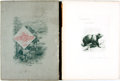 Books:Art & Architecture, [Featured Lot] John Muir, editor. Picturesque California. J. Dewing, [1888]. 10 portfolio volumes. Contains over 600... (Total: 10 Items)