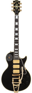 Musical Instruments:Electric Guitars, 2004 Gibson Custom Shop Les Paul Jimmy Page Signature Black SolidBody Electric Guitar, Serial # Jimmy Page #6....