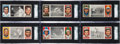 Baseball Cards:Lots, 1912 T202 Hassan Triple Folder SGC Graded Collection (6). ...