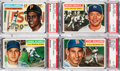 Baseball Cards:Sets, 1956 Topps Baseball Near Set (339/340). ...