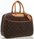 Luxury Accessories:Bags, Louis Vuitton Classic Monogram Canvas Deauville Bag. ...