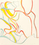 WILLEM DE KOONING (American, 1904-1997) Quatres Lithographies (four works), 1986 Lithographs in colors on wove paper...