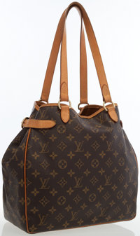 Louis Vuitton Classic Monogram Canvas Batignolles Shoulder Bag