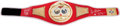 """Boxing Collectibles:Autographs, 2012 Thomas """"Hitman"""" Hearns Signed IBF Championship Replica Belt...."""
