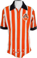 Football Collectibles:Uniforms, 1960's American Football League Game Worn Referee Jersey. ...