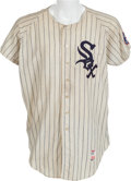 Baseball Collectibles:Uniforms, 1968 Marv Grissom Game Worn Chicago White Sox Jersey....