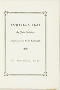 Books:Literature 1900-up, John Steinbeck. Tortilla Flat. New York: Covici Friede,[1935]. First edition. Original cloth binding. Top edge stai...