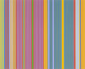 Post-War & Contemporary:Minimalismk, GENE DAVIS (American, 1920-1985). Series I (complete set of6 works), 1969. Silkscreens in colors on canvas laid dow...(Total: 7 Items)