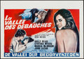 "Movie Posters:Sexploitation, Beyond the Valley of the Dolls (20th Century Fox, 1970s). Belgian(14.5"" X 21""). Sexploitation.. ..."