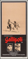 "Movie Posters:War, Gallipoli (Paramount, 1981). Australian Daybill (13.25"" X 28"").War.. ..."