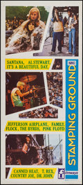 """Movie Posters:Rock and Roll, Stamping Ground (Filmways, 1971). Australian Daybill (13"""" X 30""""). Rock and Roll.. ..."""