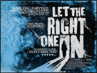 "Let the Right One In (Sandre Metronome, 2008). British Quad (30"" X 40""). Foreign"