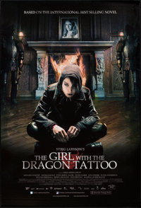 "The Girl with the Dragon Tattoo (Nordisk Film, 2009). One Sheet (27"" X 40"") DS. Crime"