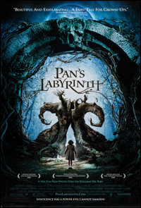 """Pan's Labyrinth (Unknown, 2006). One Sheet (27"""" X 40"""") DS. Fantasy"""