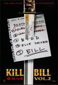 "Movie Posters:Action, Kill Bill: Vol. 2 (Miramax, 2004). One Sheet (27"" X 41"") SS ListStyle. Action.. ..."