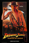 "Movie Posters:Adventure, Indiana Jones and the Temple of Doom (Paramount, 1984). One Sheet(27"" X 40"") Advance. Adventure.. ..."