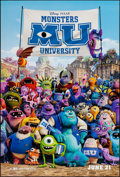 "Movie Posters:Animation, Monsters University (Buena Vista, 2013). One Sheets (3) (27"" X 40""& 27"" X 41"") SS Regular & DS Advances. Animation.. ...(Total: 3 Items)"